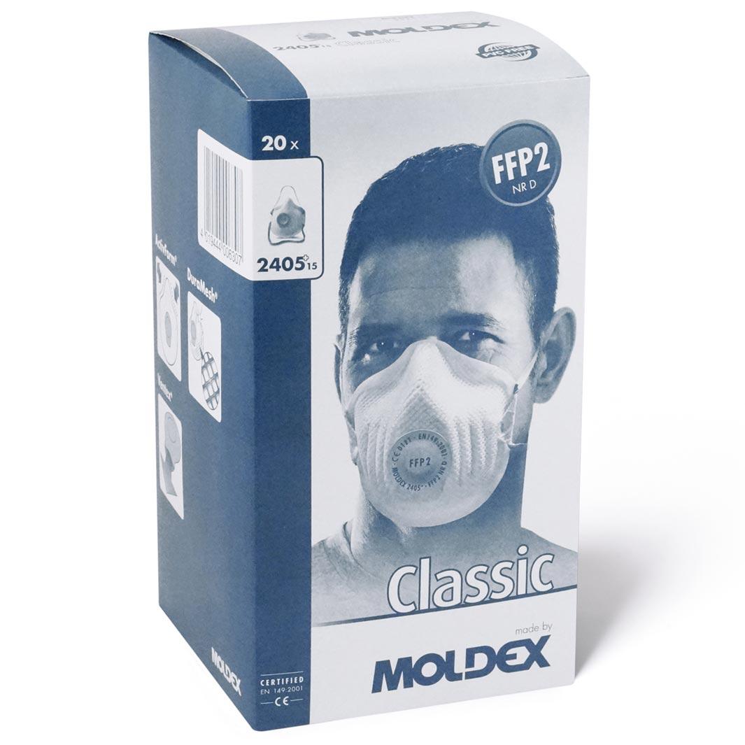 Atemschutzmaske FFP2 NR D mit Klimaventil