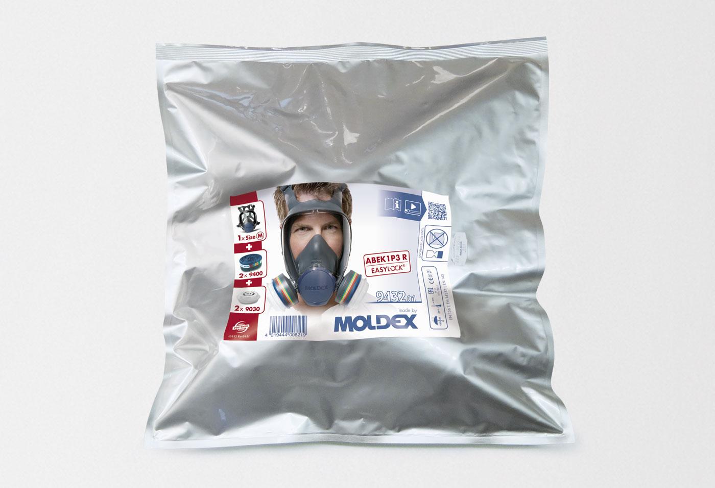 Vollmaske READY PACK ABEK1P3 R